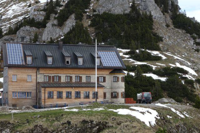 Rotwandhaus, Foto: DAV - Deutscher Alpenverein e.V.