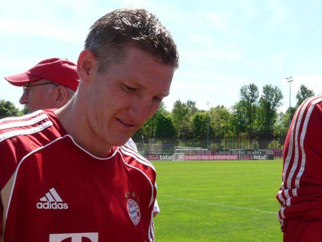 Bayern-Spieler Bastian Schweinsteiger., Foto: Immanuel Rahman