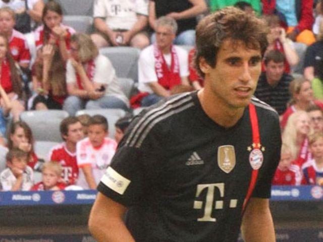 Der Bayernspieler Javi Martinez., Foto: Immanuel Rahman