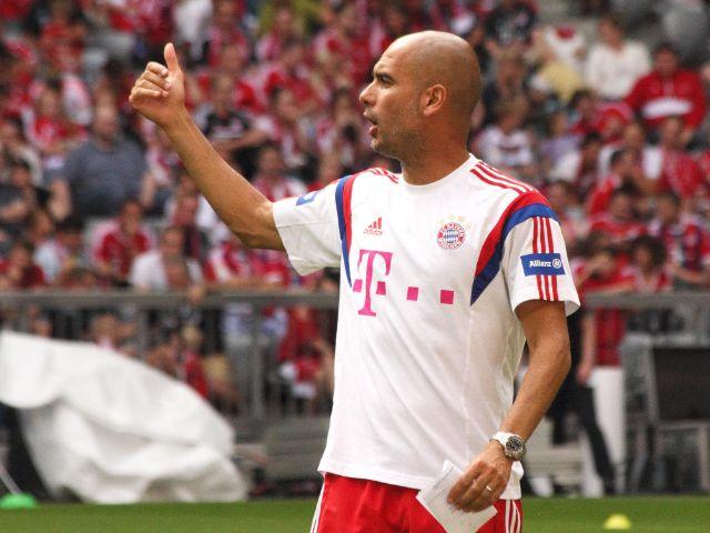 Bayern-Trainer Pep Guardiola, Foto: Immanuel Rahman