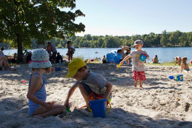 Sandkasten am Feldmochinger See, Foto: Katy Spichal