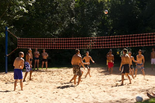 Volleyball am Feldmochinger See, Foto: Katy Spichal