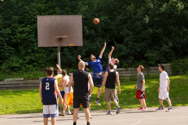 Basketball im Westpark