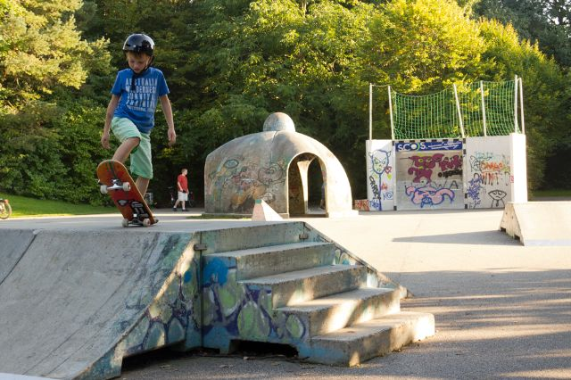 Skateanlage im Ostpark