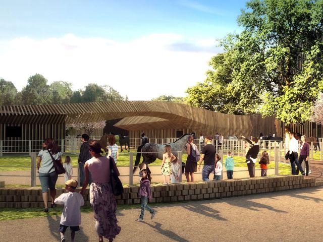 Visualisierung des Apassionata Parks, Foto: Graft Gesellschaft von Architekten mbH