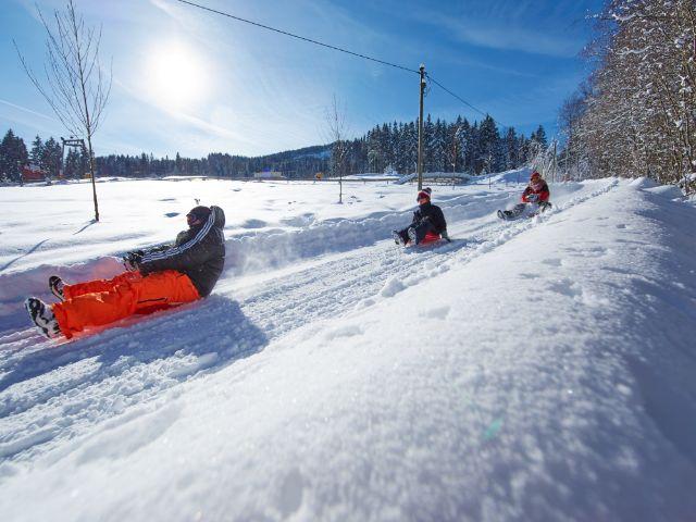 Das Wintersportgebiet Blombergbahn, Foto: Bhavana Franke / Blombergbahn