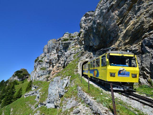 Wendelstein Zahnradbahn, Foto: Wendelsteinbahn GmbH/Peter Hofmann