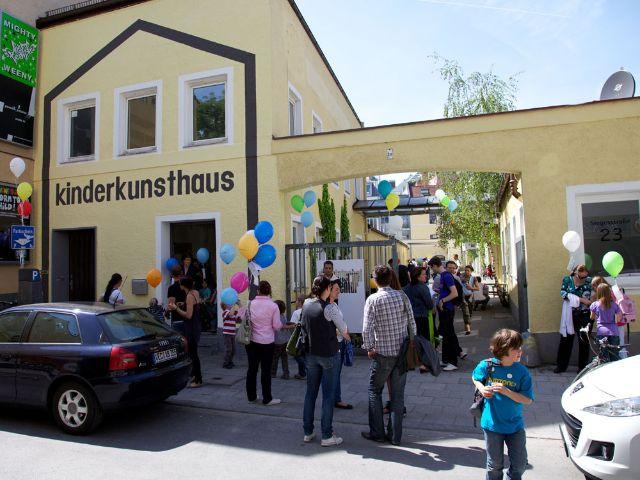 Impressionen zum Kinderkunsthaus in Schwabing., Foto: Kinderkunsthaus