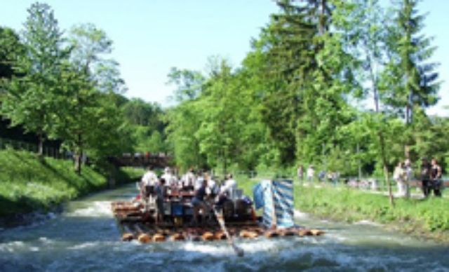 River rafting on the Isar