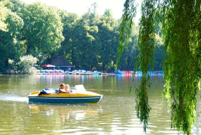 Kleinhesseloher See Englischer Garten, Foto: Michael Neißendorfer