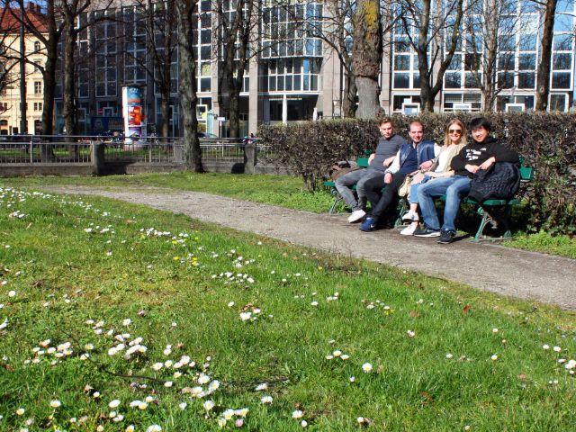 Besondere Orte zum Sonnen in München: Ottostraße
