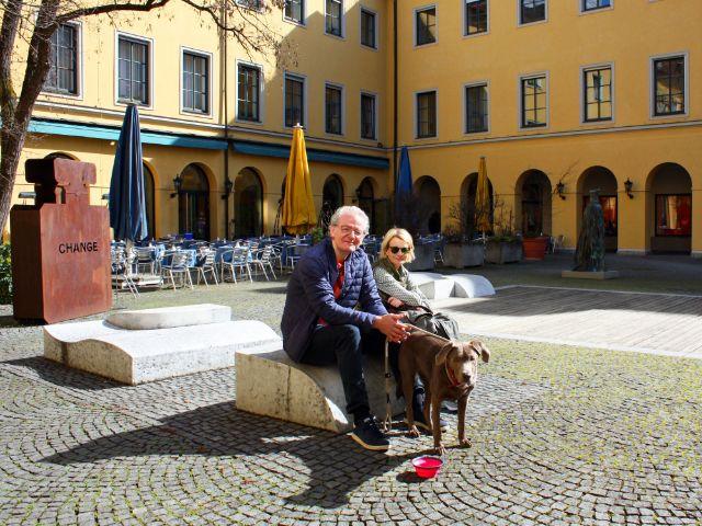 Besondere Orte zum Sonnen in München: nähe Salvatorstrasse