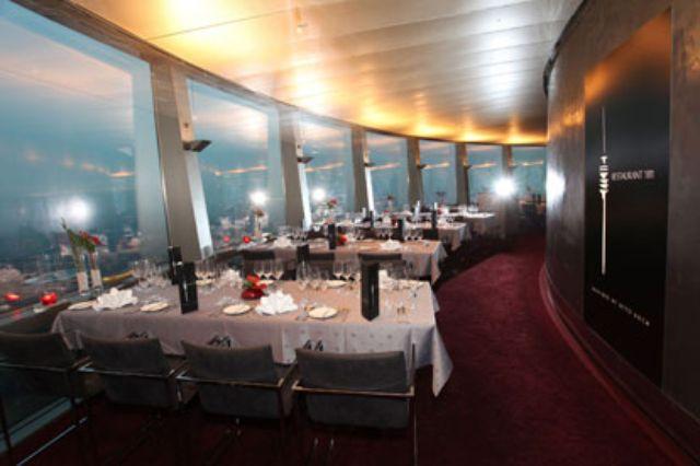 Businessbereich im Drehrestaurant 181, Foto: Restaurant 181