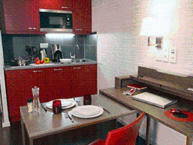 Adagio Munich City kitchen