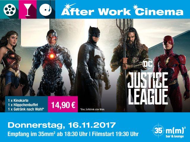 """""""Justice League"""" im After Work Cinema, Foto: Mathäser"""