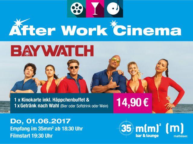 """""""Baywatch"""" im After Work Cinema, Foto: Mathäser"""
