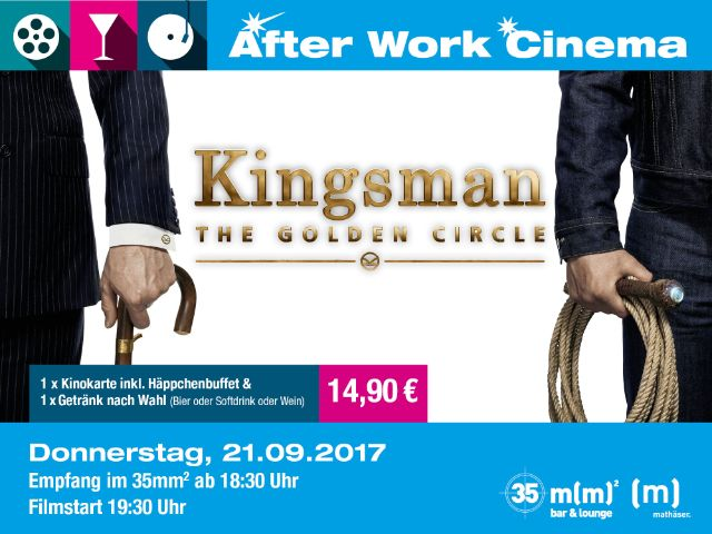 """Kingsman"" im After Work Cinema, Foto: Mathäser"