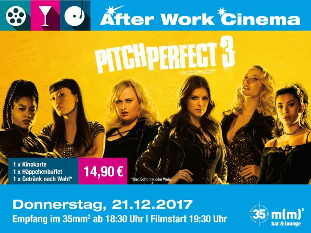 "After Work Cinema ""Pitch Perfect 3"", Foto: Mathäser"