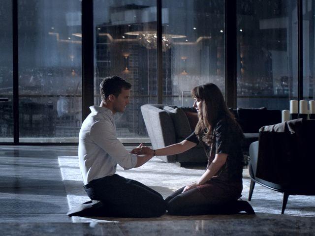 """Filmszene aus """"Fifty Shades of Grey - Gefährliche Liebe"""""""