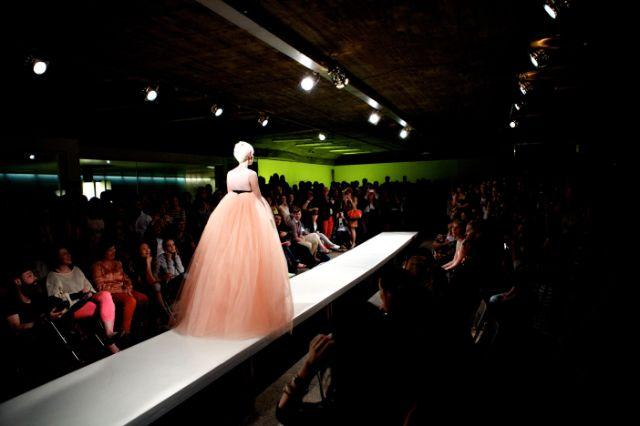 Modeschau im Maximiliansforum, Foto: Yves Krier