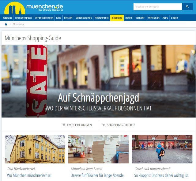 muenchen.de Shopping-Guide, Foto: muenchen.de