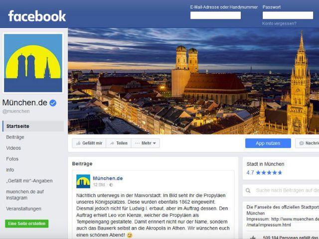 Facebook muenchen.de