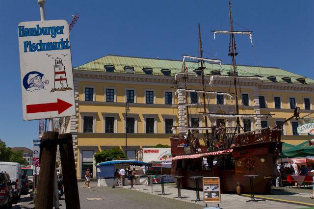 Hamburger Fischmarkt Wittelsbacherplatz, Foto: Katy Spichal