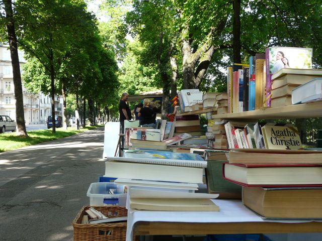 Bücherstand Lisar Bücherflohmarkt