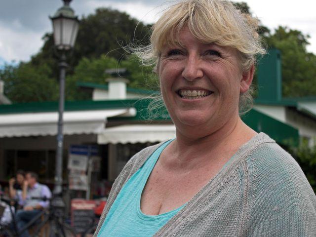 Bussi`s Kiosk-Besitzerin Anja Bussmann