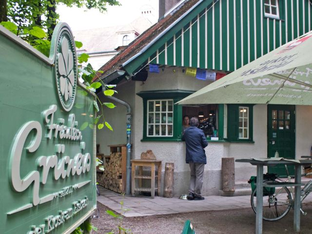Kiosk Fräulein Grüneis München
