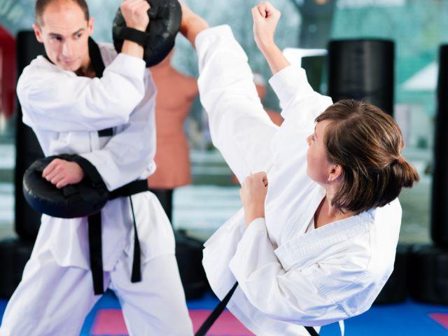 Taekwondo Training, Foto: Kzenon / Shutterstock.com