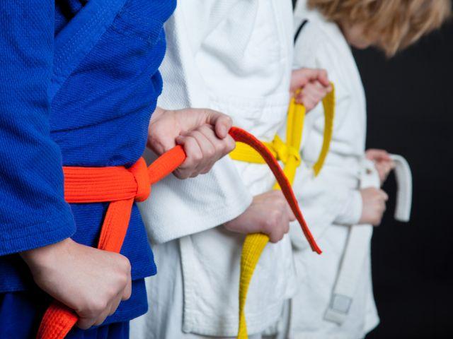 Junge Judoka mit Gürtel, Foto: foto infot / Shutterstock.com