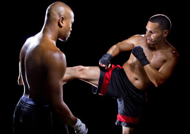 Trainingskampf beim Krav Maga, Foto: Rommel Canlas / Shutterstock.com
