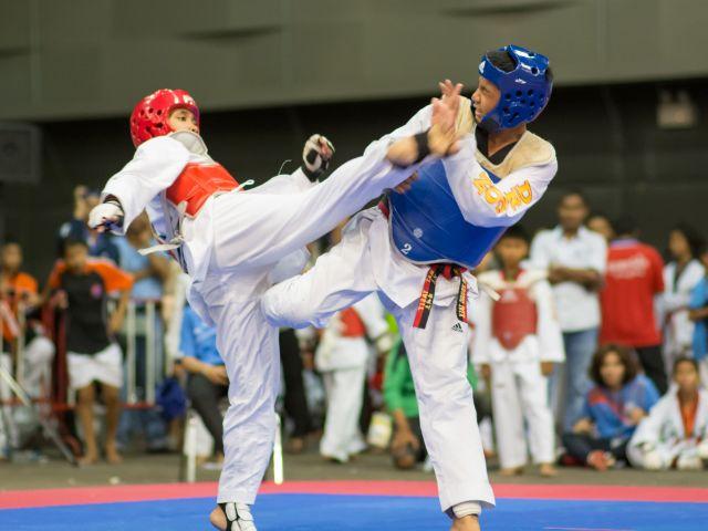 Wettkampf im Taekwondo, Foto: ARZTSAMUI / Shutterstock.com