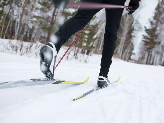 Detail eines Langläufers, Foto: Fotokvadrat / Shutterstock.com
