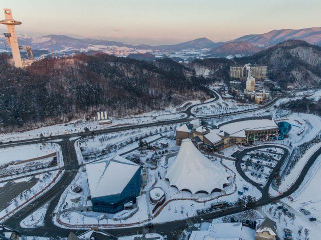Olympische Spielstätten 2018