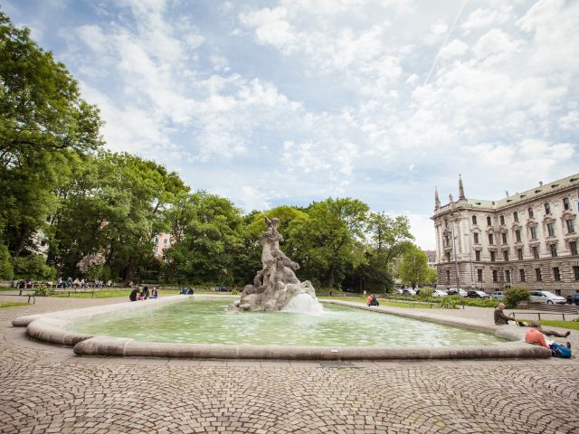 Brunnen in München, Foto: muenchen.de / Mónica Garduño