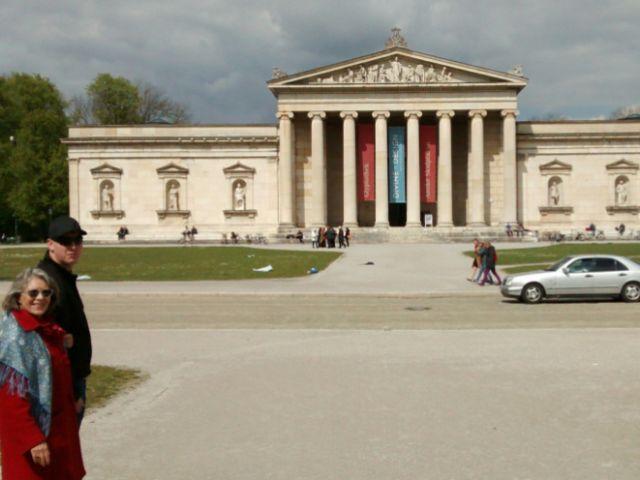 Die Glyptothek am Königsplatz in München, Foto: Highlight Tours / Highlight Touren