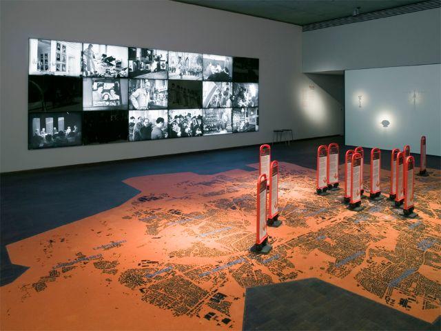 Dauerausstellung Stimmen_Orte_Zeiten, Foto: Jüdisches Museum München
