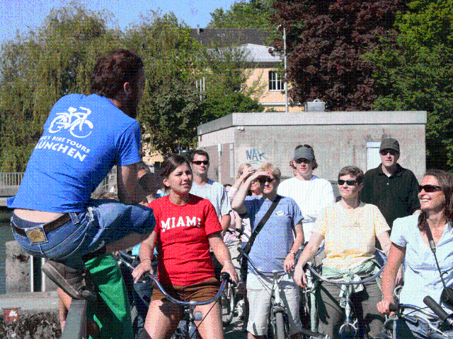 Mikes bike tours Munich