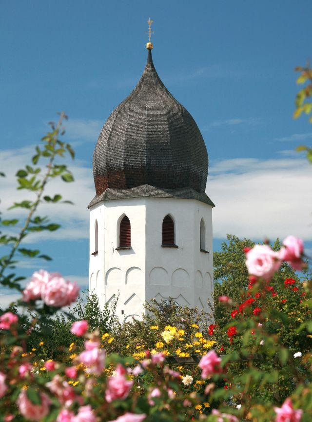 Kloster Frauenwörth im Chiemsee, Foto: Erzbischöfliches Ordinariat München, Kunstreferat