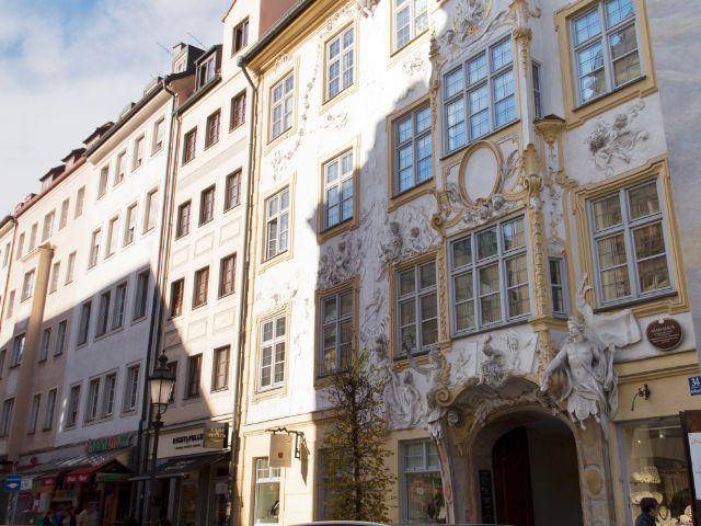 Asamhaus in der Sendlinger Straße