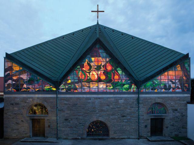 Sankt Hildegard Kirche in Pasing, Foto: Christoph Brech