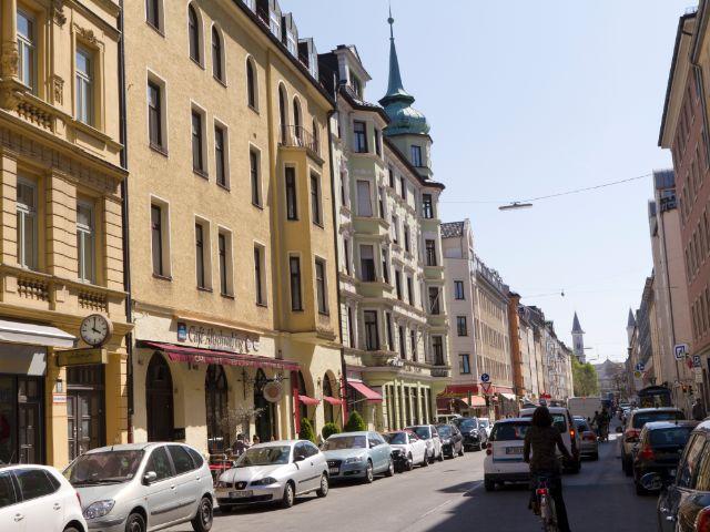 Schellingstraße im Univiertel, Foto: Katy Spichal