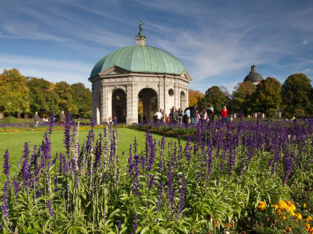 Der Hofgarten im Frühling, Foto: Katy Spichal