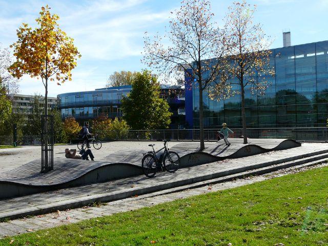 Stimmung im Petuelpark, Foto: Mark Read