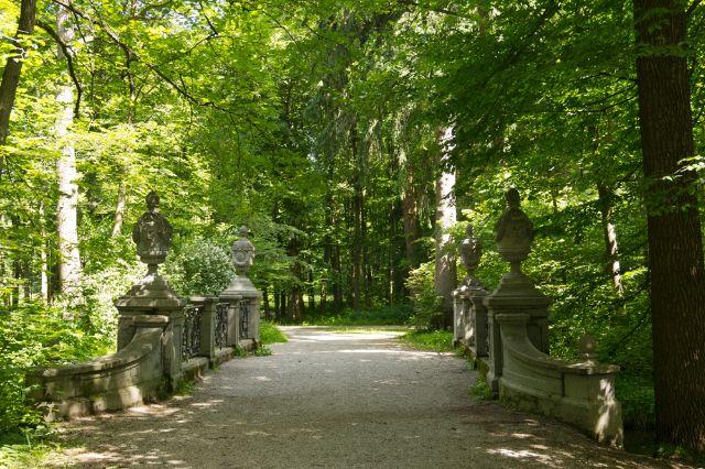 Kleine Brücke im Schlosspark Nymphenburg , Foto: muenchen.de