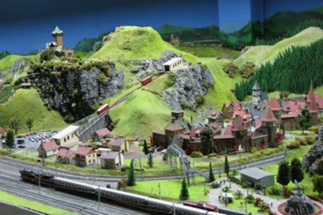 Miniland Mittelgebirge, Foto: Miniland