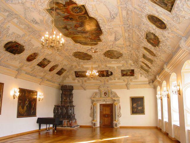Kloster Benediktbeuern, Ansicht innen, Foto: Kloster Benediktbeuern