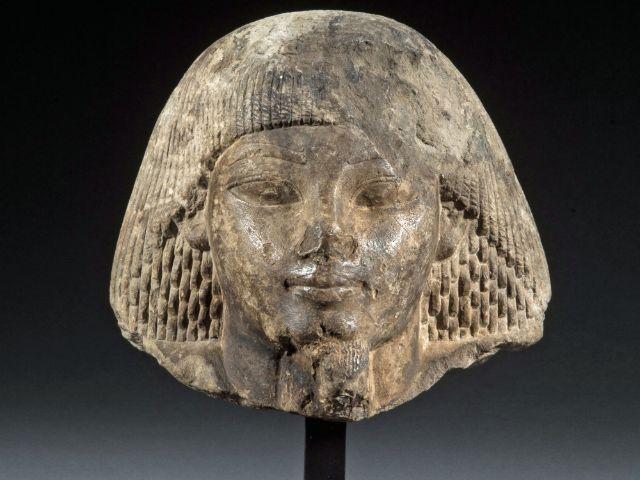 Porträtkopf aus dem 2. Jahrtausend vor Christus, Foto: SMÄK / Marianne Franke